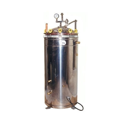 Autoclave Vertical 100 Eléctrica,Tipo Chamberland, 30x50cm, 35L