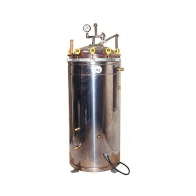 Autoclave Vertical 100 A Gas, Tipo Chamberland, 40x60cm, 75L