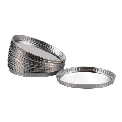 Navecillas Aluminio Balanzas De Humedad x 50u