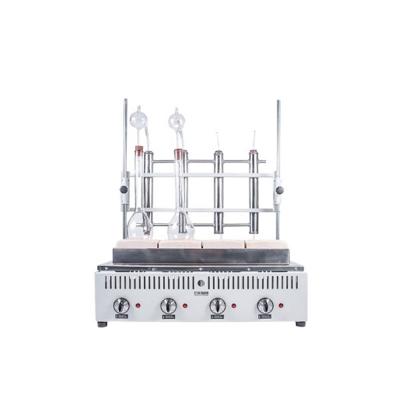 Calefactor DK-4 Destilación Kjeldahl 4 Determinaciones