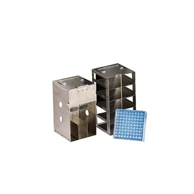 Rack Inóx Para 5 Cajas x100 Posiciones ParaLS3000