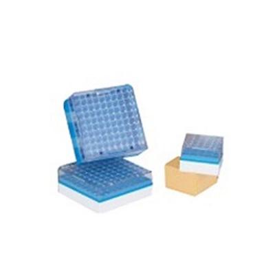 Pack 24 Cajas Plásticas x100 Posiciones Para LS3000/4800/6000/10-24-38K/CXR500