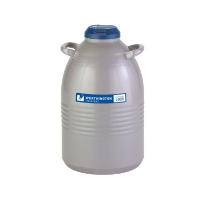 Contenedor Nitrógeno Líquido LD 25, 25L