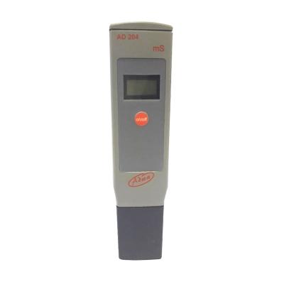 Conductímetro Portátil AD204 EC 0-1999mS Con ATC