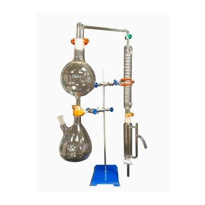 Equipo De Vidrio Para Destilación De Aceites Esenciales