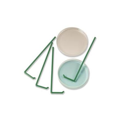 Espátula Plástica Descartable Forma L Esteril Pack x 10u