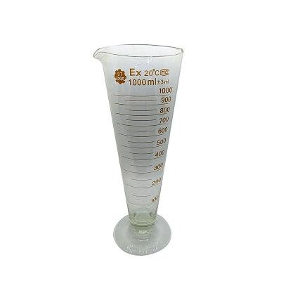 Medida Cónica Vidrio Boro 3.3  1000ml