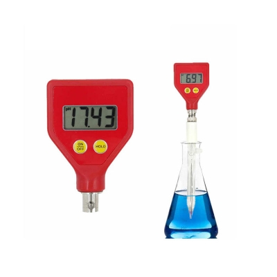 Phmetro Portátil  Ph-98108 pH 0-14, ATC, para Quesos, Leche y Suelos