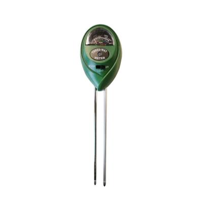 pHmetro Para Suelos pH 3-8/Humedad 0-10%/Lux 0-200
