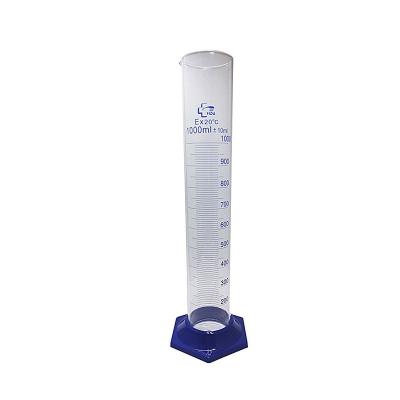 Probeta Vidrio Boro 3.3 1000ml Base Plástica