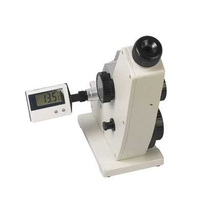 Refractómetro De Mesa  WYA Tipo Abbe 0-95 Brix, Termómetro Digital, ATC<br/>