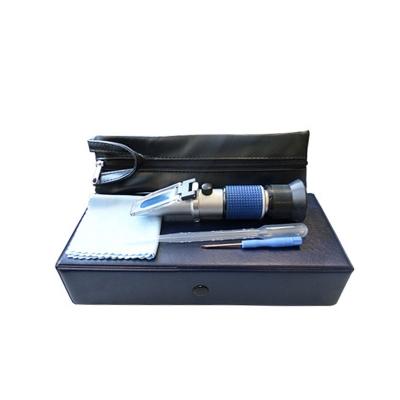 Refractómetro De Mano  Para Salinidad 0-28% Sal Con ATC