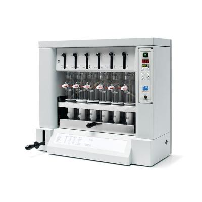 Extractor Con Solventes  SER 148/6 Semi-Automático Para 6 Determinaciones